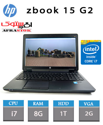 لپ تاپ استوک اچ پی مدل hp zbook15 G2